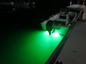 Surface Mount Transom Light LED Underwater