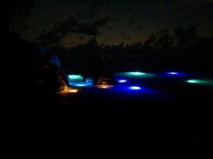 Underwater LED Dock Light