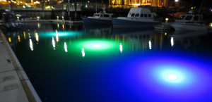 LED underwater Dock Light for Shallow Water