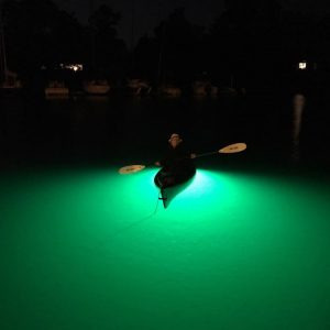 High intensity Underwater Kayak Fishing Light